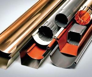 Водосточные системы из металла